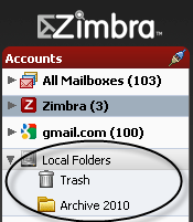 Archiving your email messages