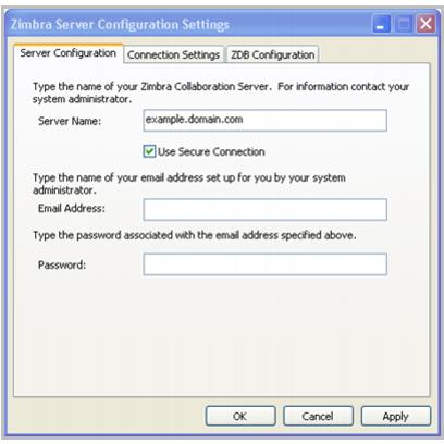 Zimbra Connector for Outlook Administrator Guide